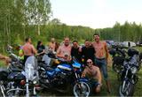 良い意味で衝撃的だったロシアのバイク乗りの画像