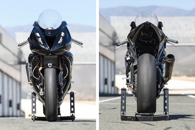 トライアンフ Moto2 プロトタイプ 写真