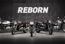 British Icons. Global Legends. Reborn.の画像