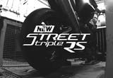 新型ストリートトリプルRSのエンジンサウンドの画像