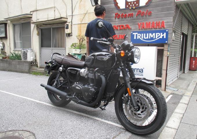 ボンネビルT120ブラック(2016)の画像