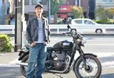 ボンネビルT100ブラックの画像