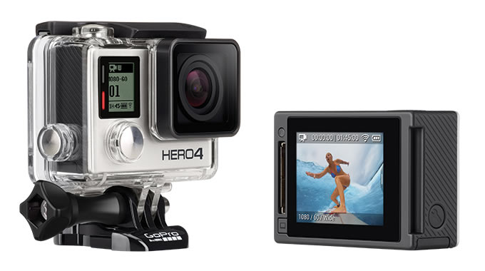 GoPro HERO4 Silver Adventureの画像