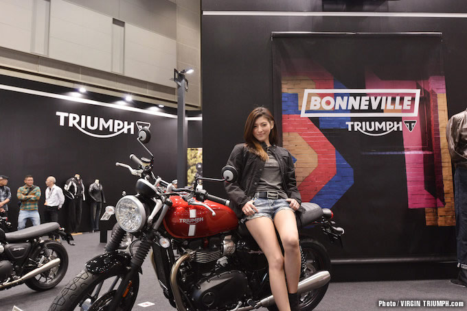【トライアンフ】東京モーターサイクルショー2016