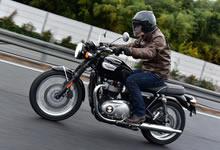 新型ボンネビルT100 長期インプレ vol.02【高速道路&ワインディング編】の画像