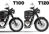 新型ボンネビルT100 長期インプレ vol.06(最終回)【T100とT120の比較/純正アパレル編】の画像