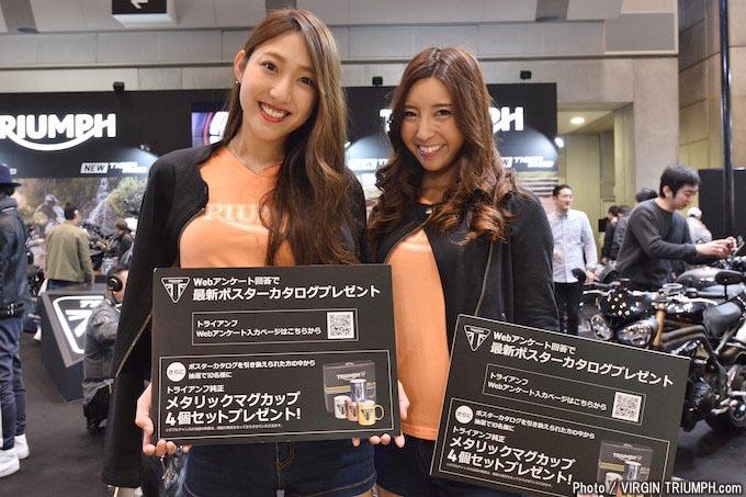 新型タイガーやスピードマスターが注目を集めた東京モーターサイクショー2018トライアンフレポートの画像