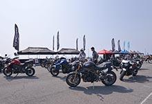 新型タイガーシリーズとスピードマスターの試乗車が用意された第4回JAIA輸入二輪車試乗会・展示会レポート
