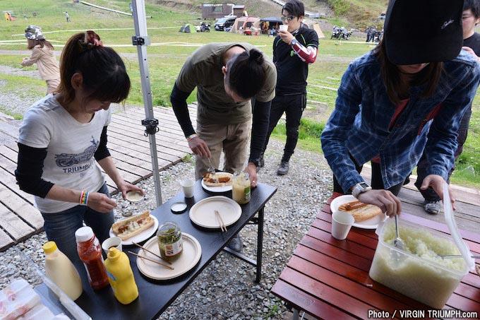 自然を満喫するキャンプスタイルのトライアンフミーティング「トライキャンプ2018」レポートの画像