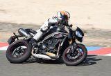 トライアンフ3気筒スポーツネイキッドの最高峰モデル スピードトリプルRSを最速インプレッションの画像