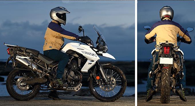 トライアンフ タイガー800XCA & タイガー1200XCA 写真