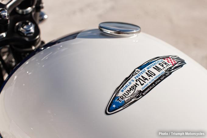 ボンネビルT214リミテッドエディションの画像