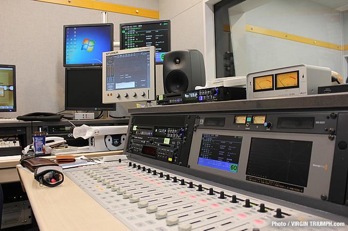 ラジオ番組収録の画像