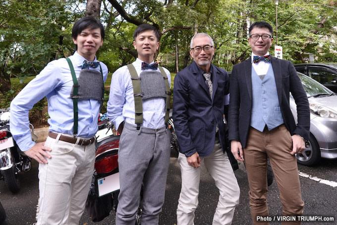 日本初開催のジェントルマンズライド レポート