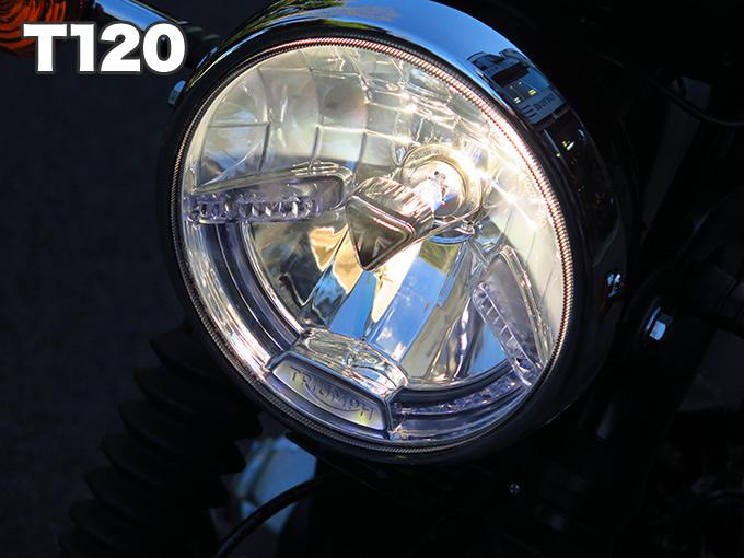 新型ボンネビルT100 長期インプレの画像