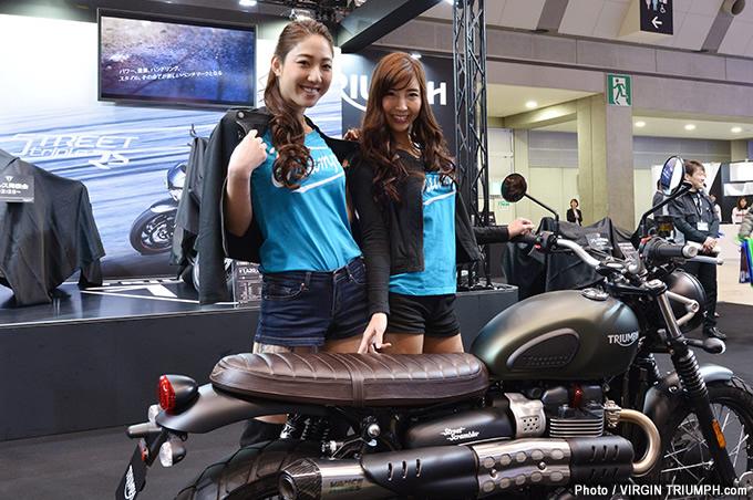 第44回東京モーターサイクショー2017 トライアンフブースレポート