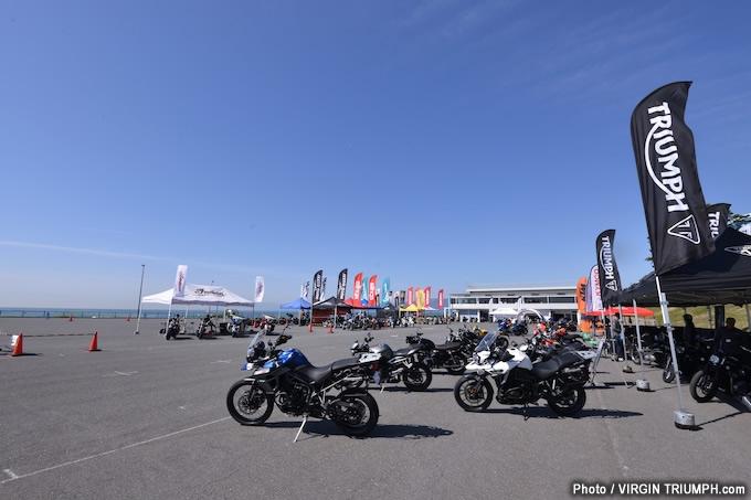 第3回JAIA輸入二輪車試乗会・展示会 トライアンフレポートの画像