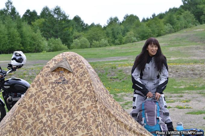 キャンプスタイルのトライアンフミーティング「トライキャンプ」レポート