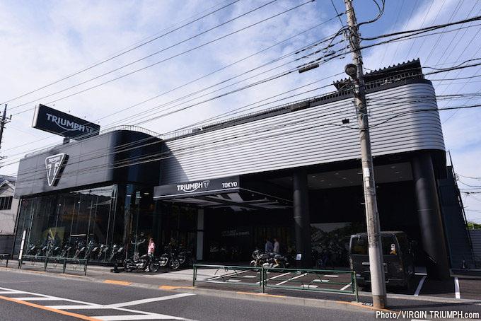 トライアンフ東京で行われたモトナビ河西編集長バースデーイベント