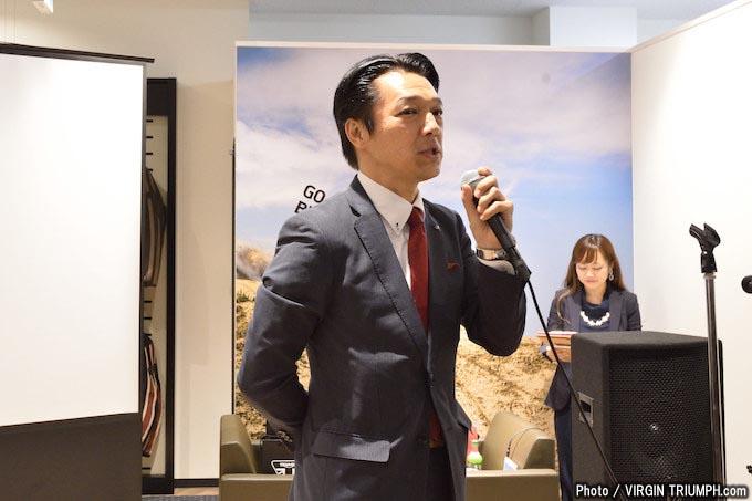 トライアンフ福岡 新規リニューアルオープン記念パーティーの画像