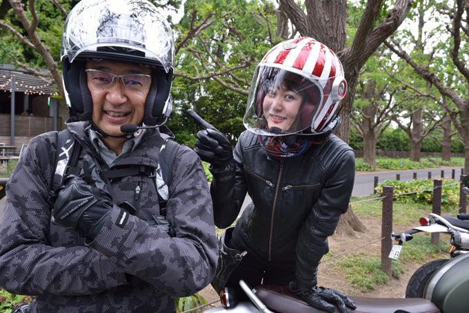 トライアンフレディーのYUさんがラジオ番組「ライダーズ」にゲスト出演!の画像