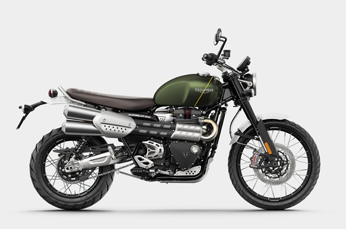 新型スクランブラー1200XC / XEの新価格発表の画像
