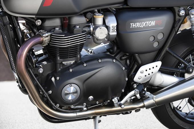 EICMA2019でスラクストンのフラッグシップ「THRUXTON RS(スラクストン アール エス)」を発表の画像