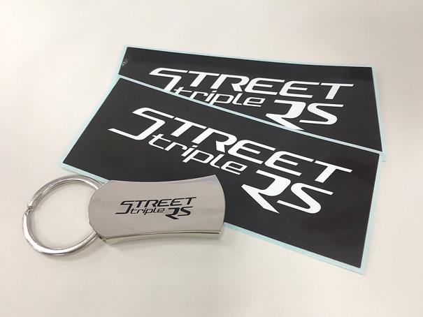 新型ストリートトリプルRSが今週末の11/16にいよいよデビュー!の画像