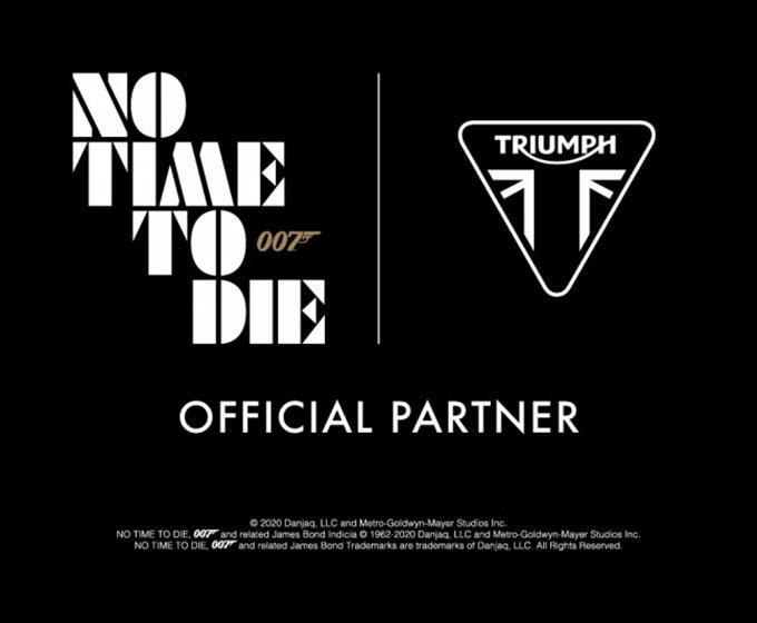 007のジェームズ・ボンドがタイガー900&スクランブラー1200XEでアクション?!の画像