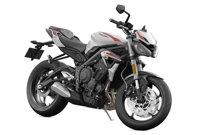 660ccのトリプルエンジンを搭載した新型Street Triple S(ストリートトリプルS)を発表の画像