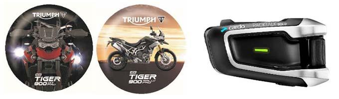 前代未聞のバイク試乗キャンペーン! 新型TIGER 900に乗って満足できなかったらクオカードをプレゼント!!の画像