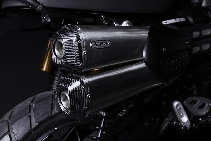 007のジェームス・ボンドモデル「TRIUMPH SCRAMBLER 1200 BOND EDITION」を発表 07画像