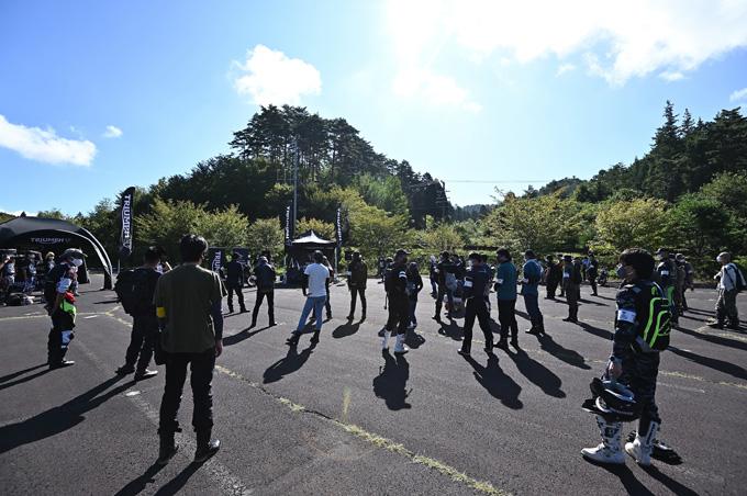 トライアンフのアドベンチャーモデルが長野県に集結!「TRIUMPH ADVENTURE CHALLENGE 1st」レポートの09画像