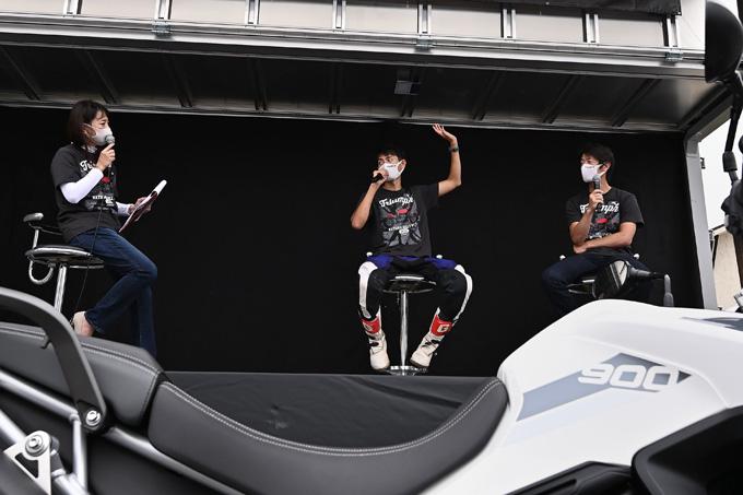トライアンフを愛するライダーとしての一体感が魅力の「2020 Triumph National Rally in SAKUDAIRA (トライアンフ・ナショナル・ラリー in 佐久平)」レポートの13画像