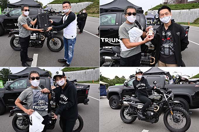 トライアンフを愛するライダーとしての一体感が魅力の「2020 Triumph National Rally in SAKUDAIRA (トライアンフ・ナショナル・ラリー in 佐久平)」レポートの27画像