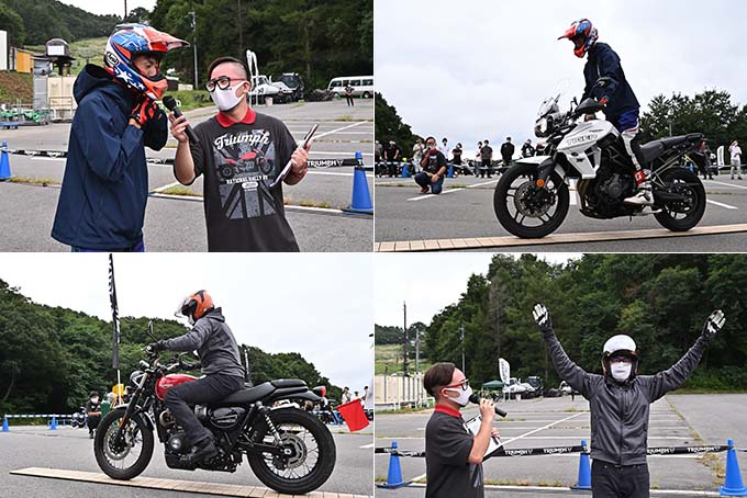 トライアンフを愛するライダーとしての一体感が魅力の「2020 Triumph National Rally in SAKUDAIRA (トライアンフ・ナショナル・ラリー in 佐久平)」レポートの35画像