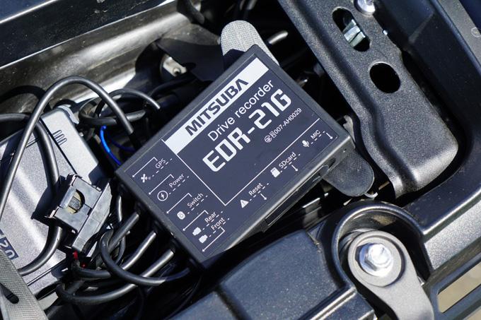 ドライブレコーダー『EDR-21G』を装備したタイガー1200デザートエディションで、2020トライアンフ・ナショナル・ラリーin佐久平に行ってきた!の04画像