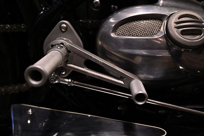 ト「ON THE ROAD'20~THE HIDE MOTORCYCLE Supported by NEUTRAL & RUDE GALLERY~」トライアンフのボンネビルボバーを宝石のようなカフェレーサーにカスタムの19画像