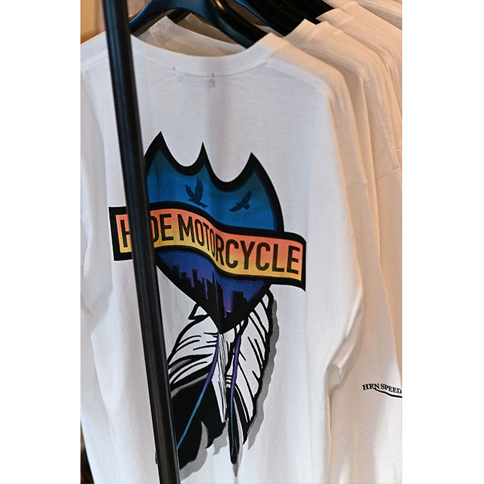 ト「ON THE ROAD'20~THE HIDE MOTORCYCLE Supported by NEUTRAL & RUDE GALLERY~」トライアンフのボンネビルボバーを宝石のようなカフェレーサーにカスタムの28画像
