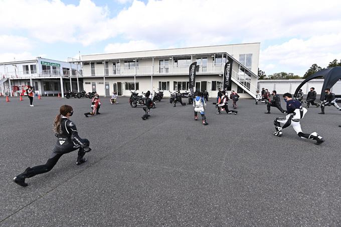 安全にスポーツライディングを楽しむためのサーキット講習会!「第4回 トライアンフ・ライディング・アカデミー(TRA)」 レポートの10画像