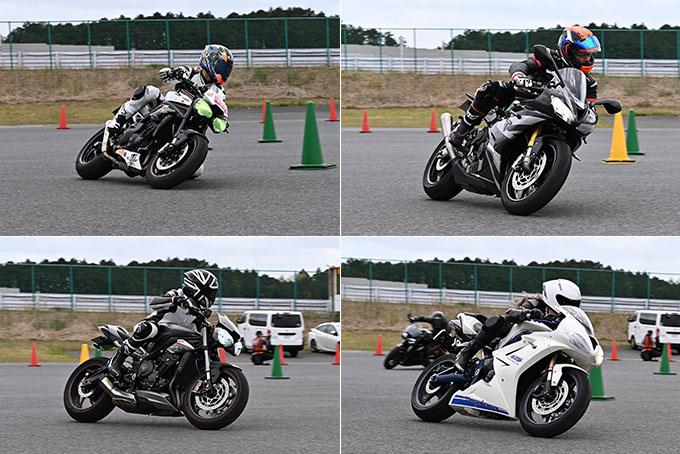 安全にスポーツライディングを楽しむためのサーキット講習会!「第4回 トライアンフ・ライディング・アカデミー(TRA)」 レポートの18画像