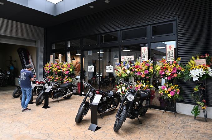 新潟県を中心に北陸エリアもカバーするトライアンフ正規販売店「トライアンフ新潟」が7/5にグランドオープンの02画像