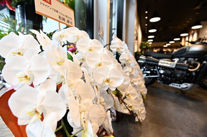 新潟県を中心に北陸エリアもカバーするトライアンフ正規販売店「トライアンフ新潟」が7/5にグランドオープンの03画像