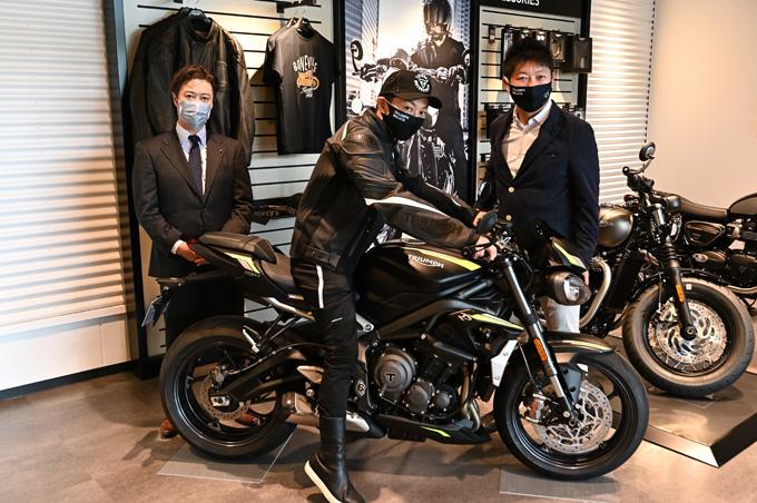 新潟県を中心に北陸エリアもカバーするトライアンフ正規販売店「トライアンフ新潟」が7/5にグランドオープンの09画像