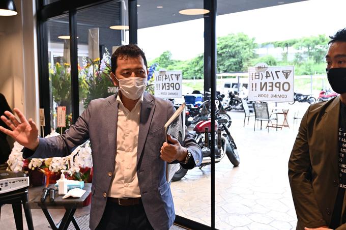 新潟県を中心に北陸エリアもカバーするトライアンフ正規販売店「トライアンフ新潟」が7/5にグランドオープンの11画像
