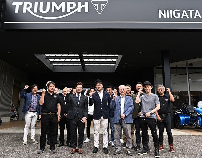 新潟県を中心に北陸エリアもカバーするトライアンフ正規販売店「トライアンフ新潟」が7/5にグランドオープンのmain画像