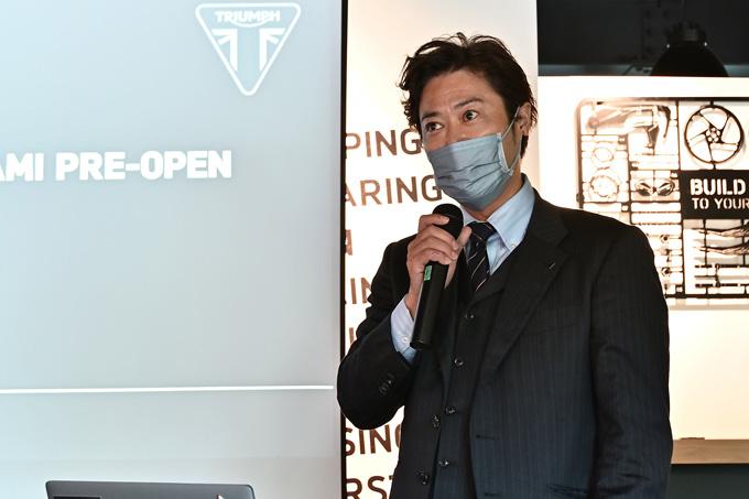 埼玉県唯一のトライアンフ正規販売店「トライアンフ埼玉南」が8/19にグランドオープン!の03画像