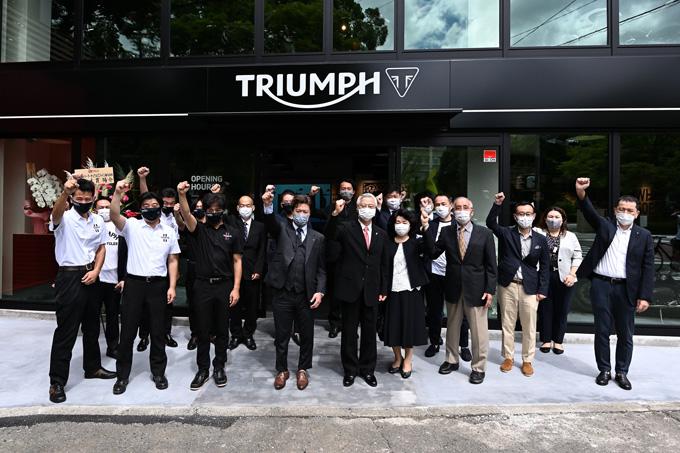 埼玉県唯一のトライアンフ正規販売店「トライアンフ埼玉南」が8/19にグランドオープン!のmain画像