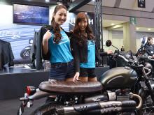 第44回東京モーターサイクショー2017 トライアンフブースレポートの画像