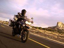 The NEW Triumph Explorer – Southwest USAの画像